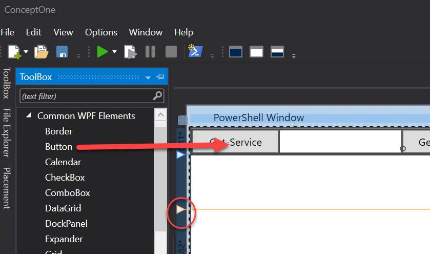 Andreas Nick - ConceptOne PowerShell and WPF Editor Preview
